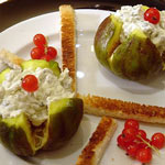 Figues farcies aux fromages